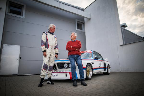 Driving legends, Jochen Neerpasch testing M Models on Transfagarasan