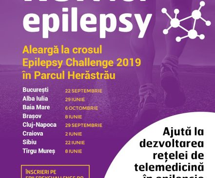 Crosul Epilepsy Challenge 2019 ajunge în București pe 22 septembrie