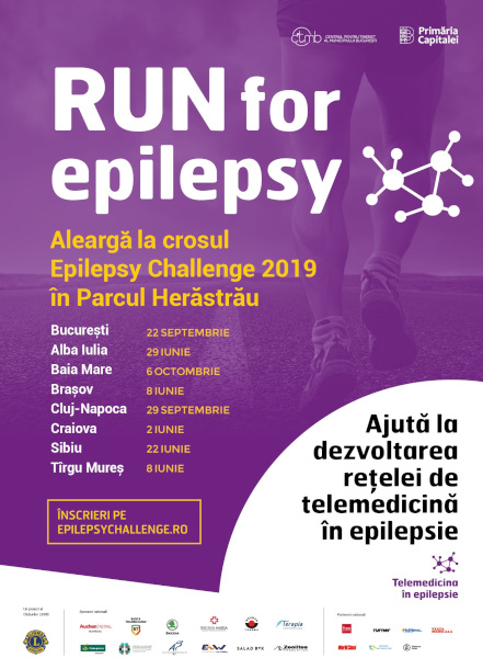 Epilepsy Challenge 2019 Bucuresti
