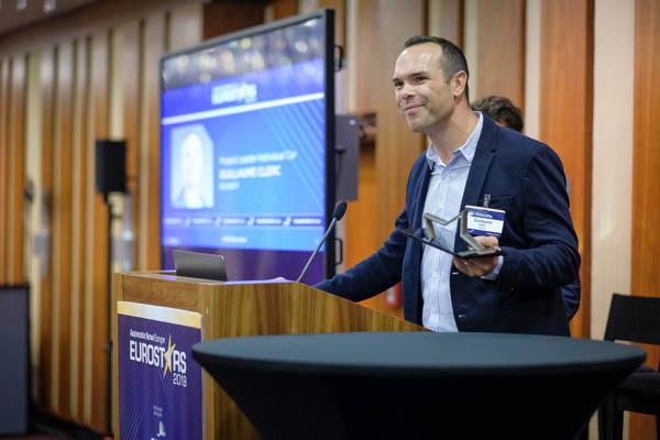 premiu Eurostars 2019. Guillaume Clerc