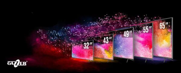 ELKO Romania distribuie televizoarele inteligente Gazer, caracterizate de raportul calitate/preț deosebit de atractiv
