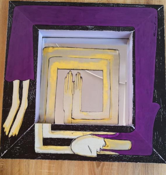 I Am the Mirror, lucrare de Raluca Ghideanu