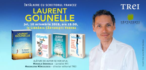 Intalnire cu Laurent Gounelle