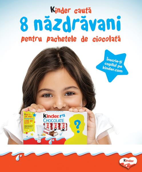 Kinder Face Promo KV