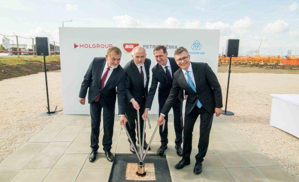 MOL Grup a demarat construcția fabricii de polioli de la Tiszaújváros – o investiție de peste 1,2 miliarde de Euro