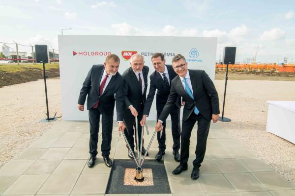 MOL Grup lanseaza constructia fabricii de polioli de la Tiszaujvaros