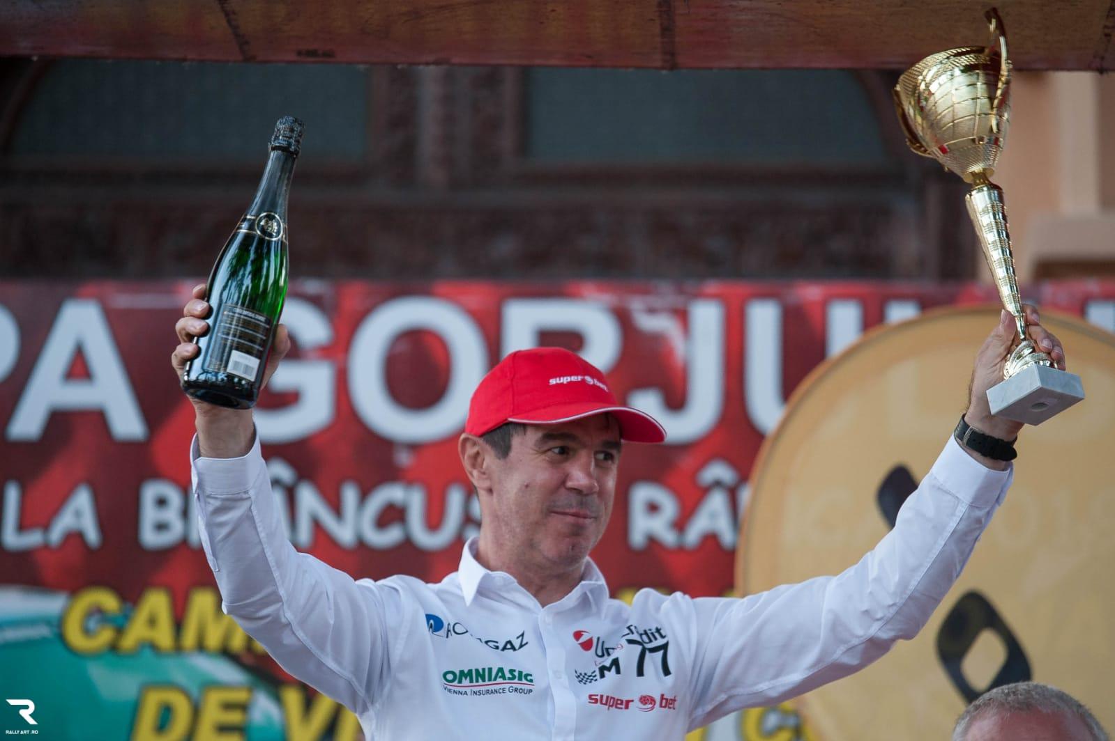 Mihai Leu, campion al Campionatului National de Viteza in Coasta