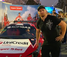 Moroșanu, copilot la Craiova la Super Rally