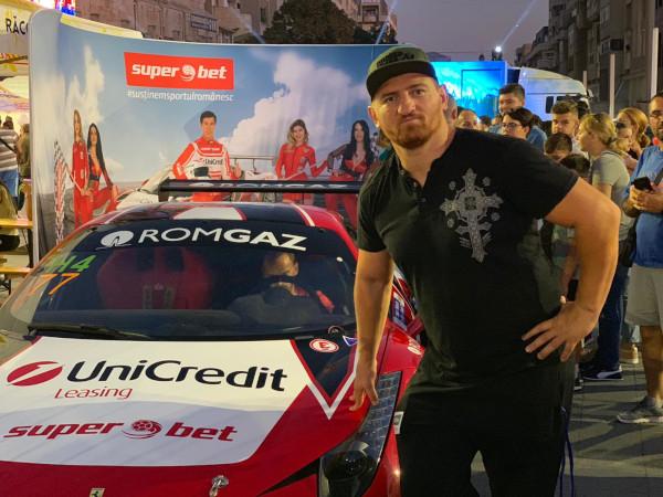 Morosanu, copilot la Craiova la Super Rally