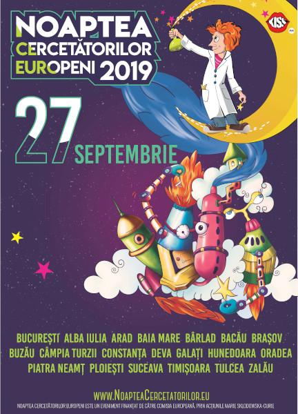 Noaptea Cercetatorilor Europeni 2019
