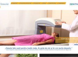 Zentiva Romania lanseaza platforma www.osteoclub.ro , website dedicat sanatatii oaselor si managementului osteoporozei