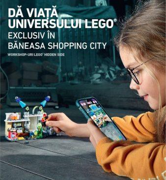 Primul joc LEGO® cu Realitate Augmentată se lansează în exclusivitate în Băneasa Shopping City