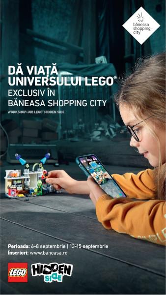Primul joc LEGO® cu Realitate Augmentata, Baneasa Shopping City