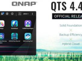 QNAP lansează oficial sistemul QTS 4.4.1 pentru NAS-uri, cu suport pentru Hybrid Cloud Storage și conectivitatea prin fibră optică