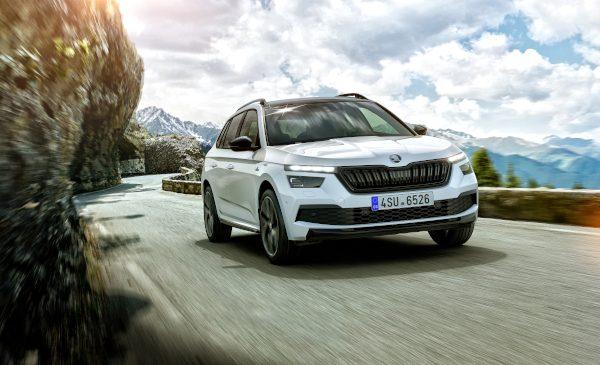 SUV-ul urban întâlnește legendele motorsport-ului: premiera noii ŠKODA KAMIQ MONTE CARLO la Salonul Auto de la Frankfurt 2019