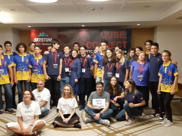 SKYSTONE, tema noului sezon BRD FIRST Tech Challenge Romania