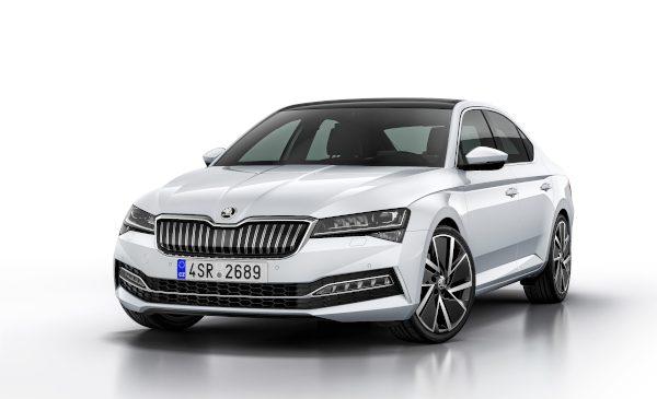 ŠKODA AUTO a lansat producția de serie a modelului SUPERB iV la fabrica sa din Kvasiny