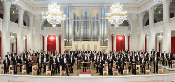 Stpetersburg Philharmonic Orchestra with maestro Temirkanov