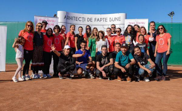 Peste 200 de participanţi la turneul caritabil Tenis pentru Fapte Bune organizat de Asociaţia The Social Incubator, au susţinut tinerii defavorizați din România.