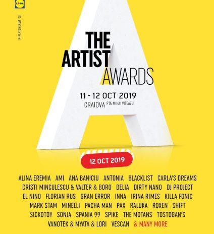 The Artist Awards – prima ediție a premiilor muzicale și de online are loc pe 11-12 octombrie in Piața Mihai Viteazu din Craiova
