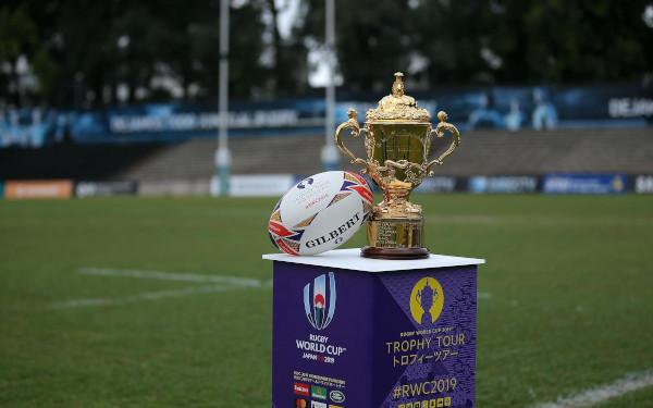 Trohpy tour, foto rugbyworldcupcom