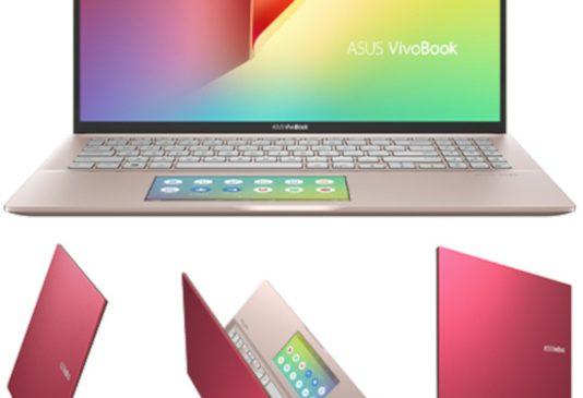 ASUS a adus în România VivoBook S15 (Punk Pink) cu ScreenPad 2.0 și edițiile Peacock Blue/Coral Crush ale laptopului VivoBook 15