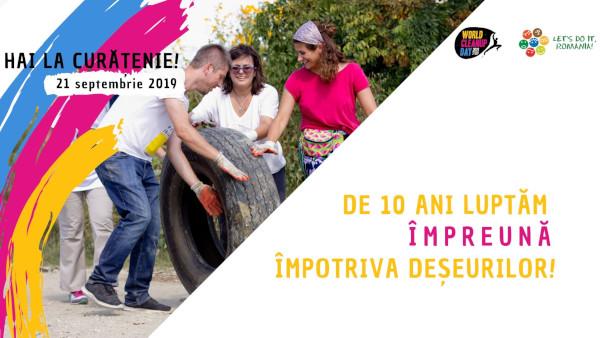 Let's Do It, Romania! organizează Ziua de Curățenie Națională pe 21 septembrie