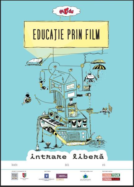 afis Educatie prin film