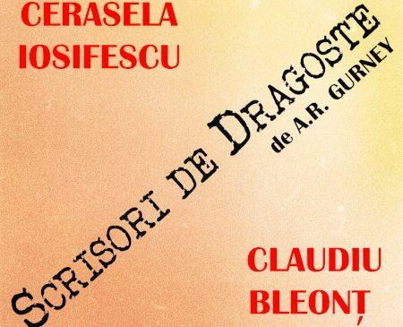 """Cerasela Iosifescu și Claudiu Bleonț își citesc """"Scrisori de dragoste"""" în celebrul spectacol omonim care revine pe scena Teatrelli în această toamnă"""