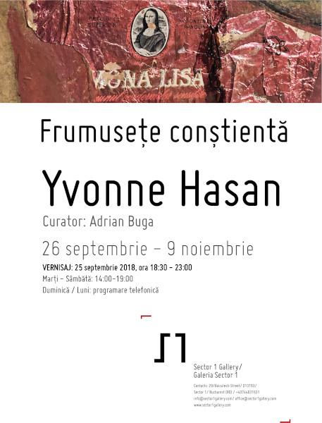 poster Frumusete constienta, Ivonne Hasan