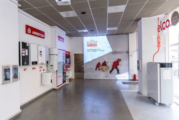Ariston showroom la Cluj-Napoca