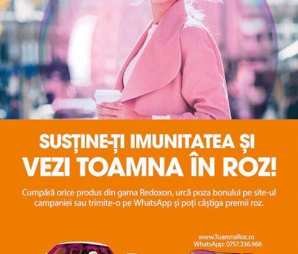 """Bayer România lansează prima campania naţională de integrated shopper marketing Redoxon """"Toamna în Roz"""""""