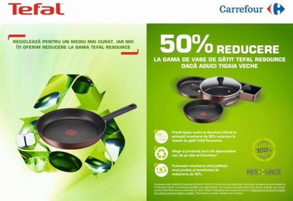 Campanie reciclare Tefal Resource