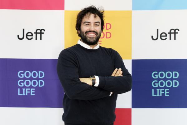 Eloi Gómez, CEO Jeff