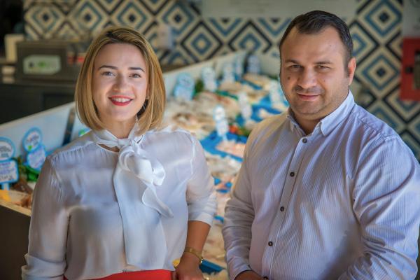 Frații Sorin și Bianca Barbu, Pescaderia