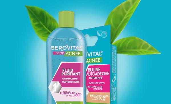 Farmec anunţă două produse noi în gama Gerovital Stop Acnee