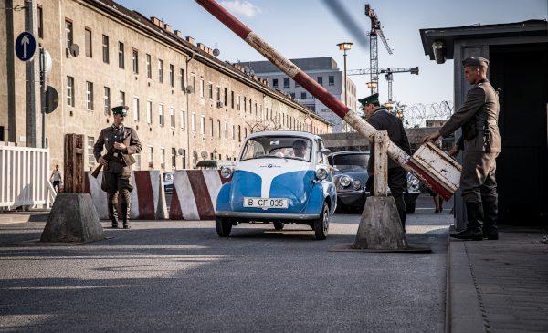 Spre libertate cu BMW Isetta