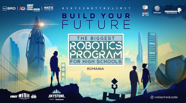 190 de echipe participă în cel mai mare program de robotică din România