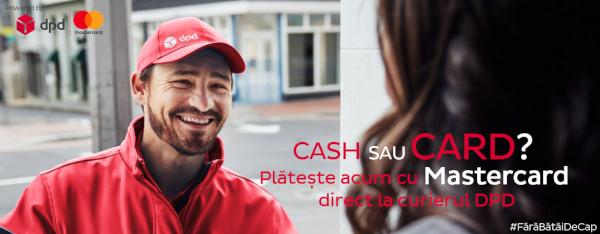 Mastercard și DPD lansează un parteneriat extins în vederea încurajării plăților cu cardul la curier