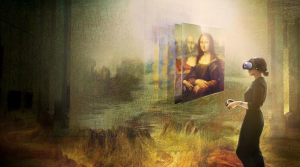 Muzeul Louvre prezintă prima sa experiență VR în parteneriat cu HTC VIVE Arts