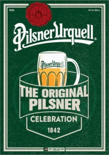 Pilsner Urquell aniversare 177 ani
