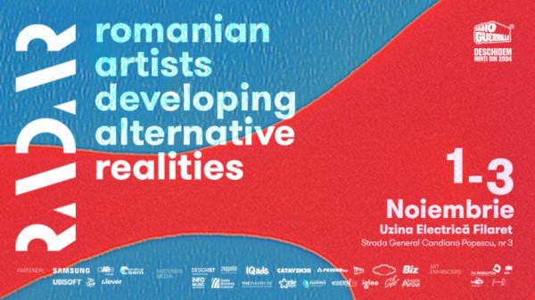 RADAR, platforma care reunește artiștii și dezvoltatorii români de New Media Art într-un festival de 3 zile