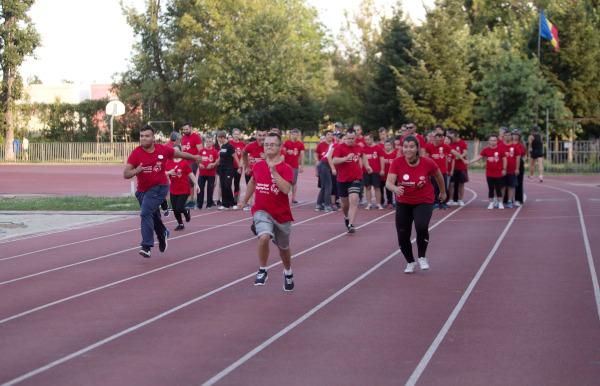 Sportivi Special Olympics Romania
