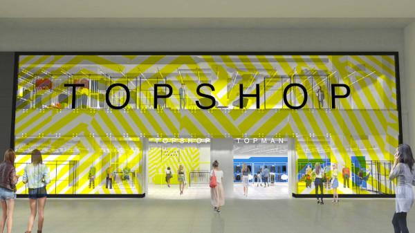 Cel mai mare magazin TOPSHOP TOPMAN din Sud-Estul Europei se deschide la Băneasa Shopping City pe 14 noiembrie