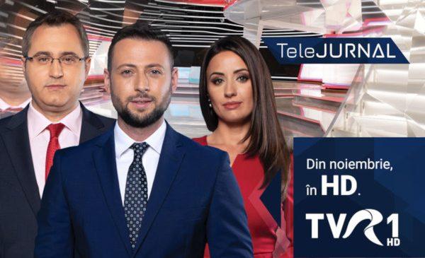 Ştirile TVR vor fi prezentate într-un decor nou, dintr-un studio multifuncţional