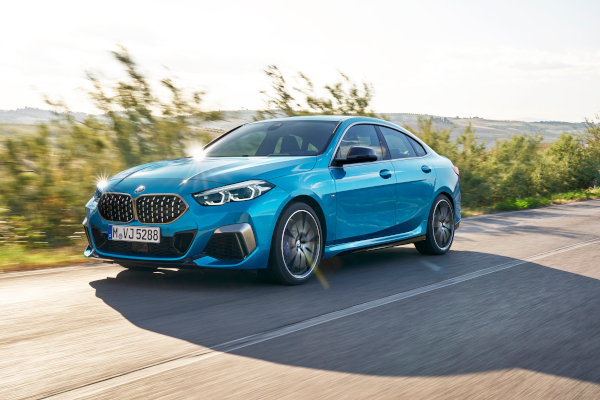 "The all-new BMW 2 Series Gran Coupe, BMW M235i xDrive, Snapper Rocks blue metallic, Rim 19"" Styling 552 M"