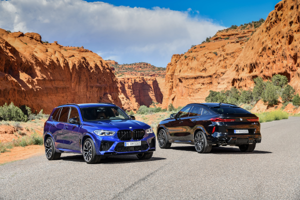 The new BMW X5 M and BMW X5 M Competition. The new BMW X6 M and BMW X6 M Competition