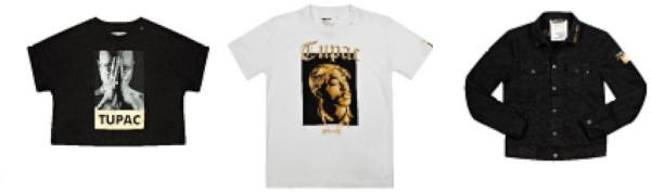 Colecția limitată Tribute-Tupac, lansată de Replay în România