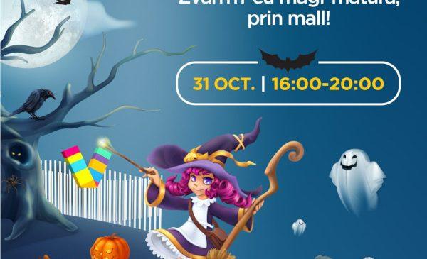 Magi-mătura buclucașă aduce distracția de Halloween la Veranda Mall
