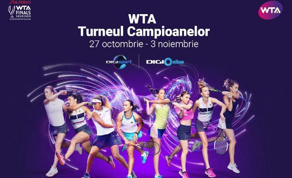 Vești bune pentru abonații Digi TV: Spectacolul tenisului feminin se vede în EXCLUSIVITATE la Digi Sport, încă 4 ani